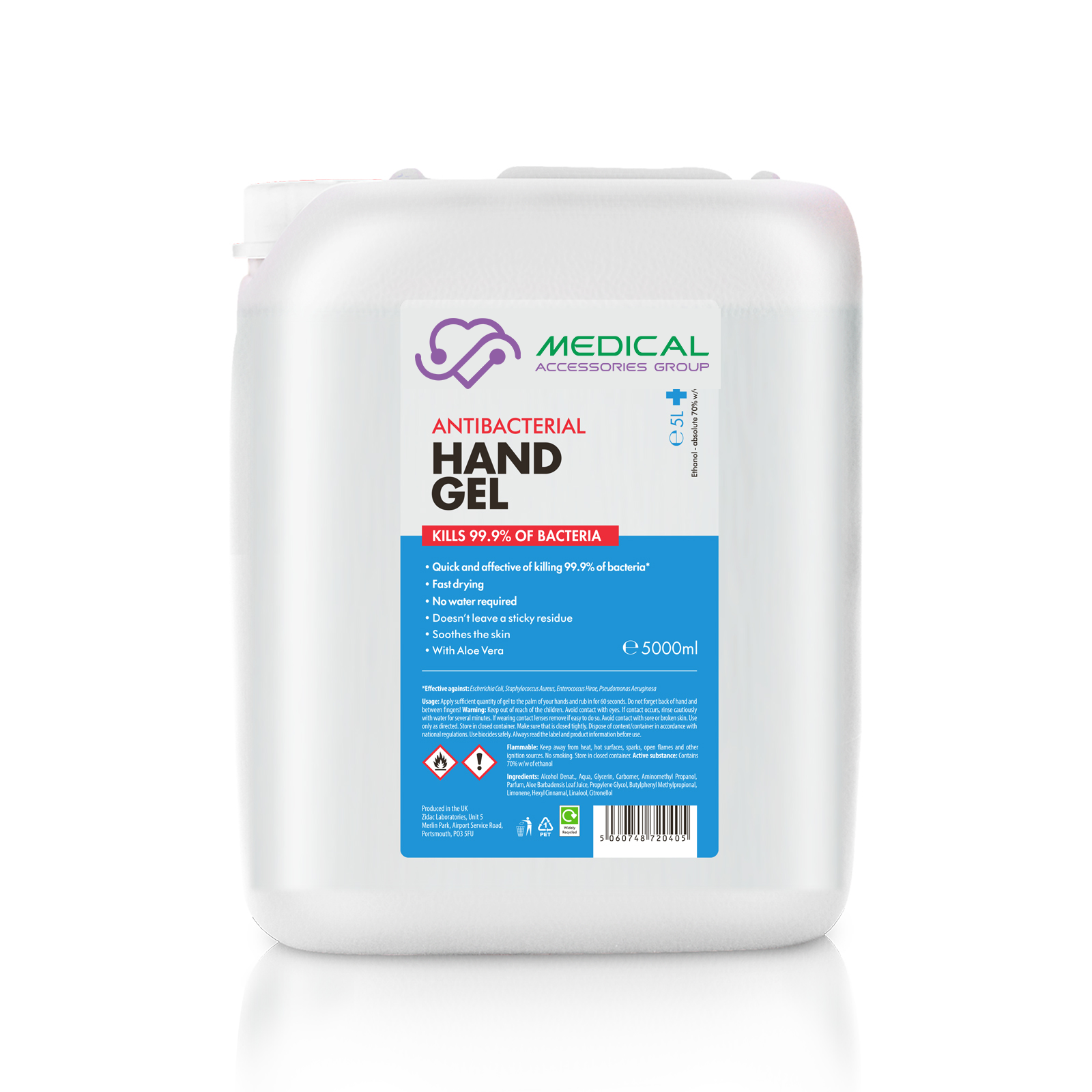 Medical accessories group sanistiser 5000ml